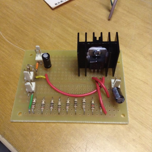 Just an LM317 constant current source
