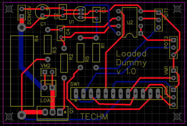 My first PCB layout! EasyEDA is living up to its name for sure